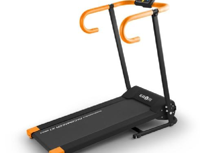 Tapis De Course Klarfit Pacemaker X1 Running Cardio Training Fitness Orange/noir