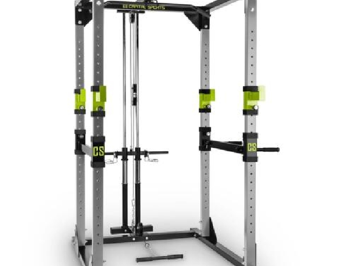 Power rack plus maison barre traction exercice fitness body building abdos cage