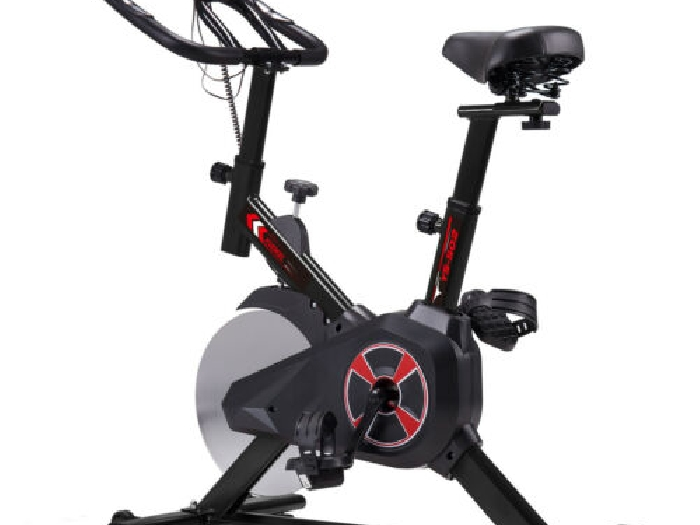 VELO D'APPARTEMENT Bicyclette Bike Fitness Cardio Volant inertie 10KG