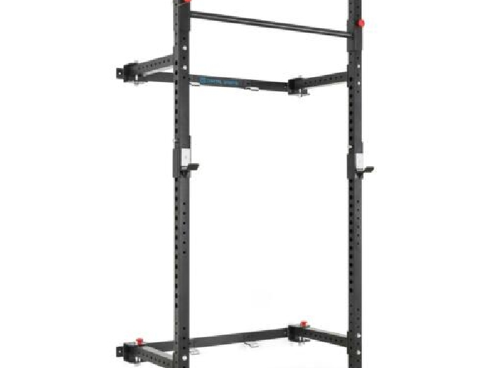 Capital Sports Flapton Rack pliable barre de traction montage mural J-Cups muscu