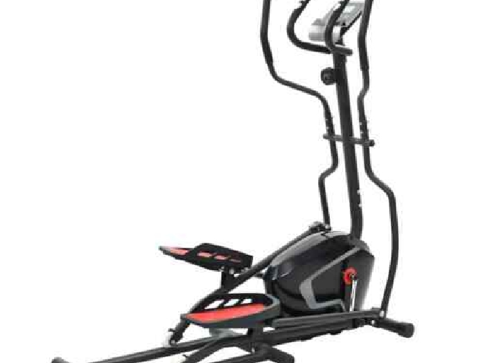 vidaXL Vélo Elliptique Masse en Rotation Pouls Appartement Machine de Sport