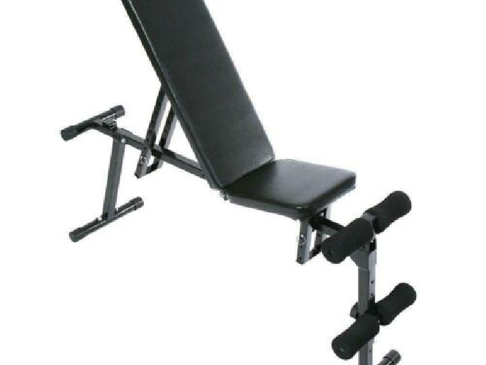 Banc de musculations compact 3 positions sport fitness musculation Helloshop26