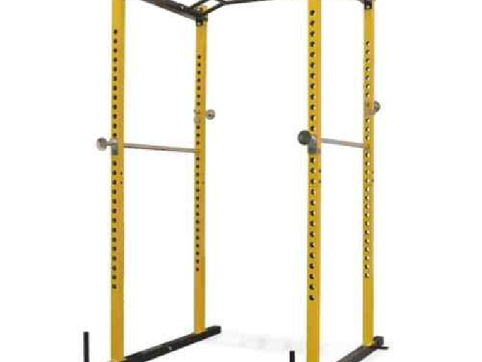 vidaXL Rack de Musculation Fitness Jaune et Noir Station de Fitness Traction
