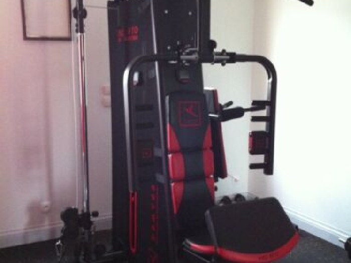Banc musculation multifonctions HG 970 3D ELECTRO DOMYOS