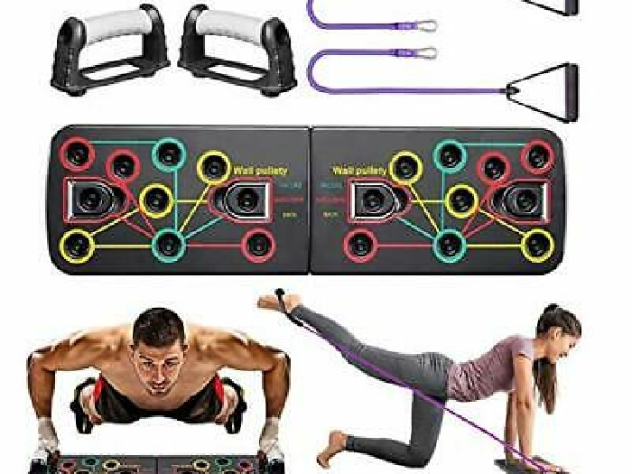 Planche Pompes 13 en 1 Push Up Board Musculation Pliable Musculation Fitness