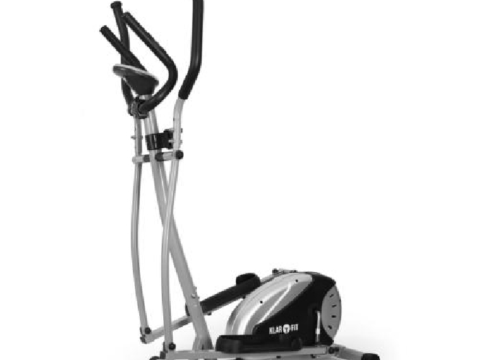 Promo crosstrainer ergometre velo elliptique cardio training 8 paliers acier - Velo elliptique cardio ...