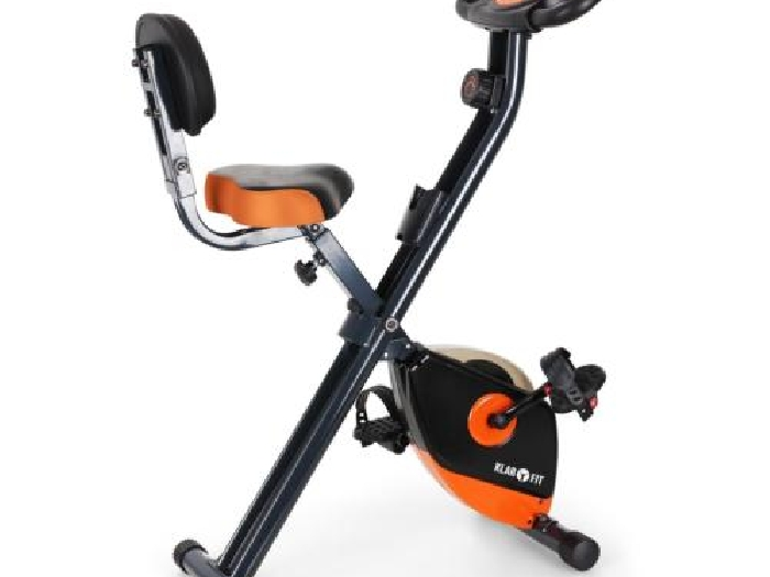 Occasion v lo d 39 appartement elliptique pliable klarfit x bike ergom tre - Velo d appartement pliable occasion ...