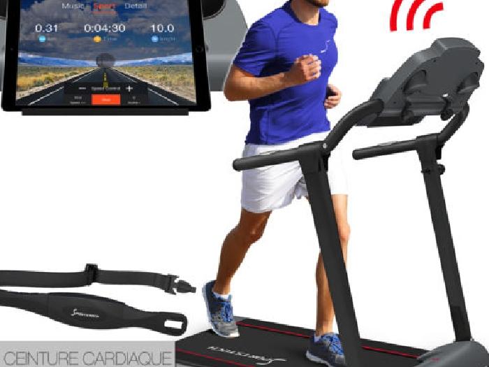 F10 tapis de course entra neur domicile pliable cardio marchant jusqua poids 120 musculation - Tapis de marche electrique occasion ...