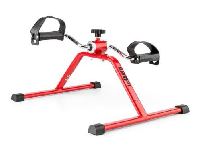 P dalier mini v lo exercice domicile bureau jambes et bras r glable rouge - Mini velo elliptique ...