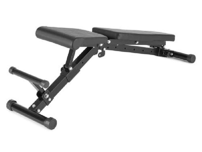 banc de musculation hauteur r glable 21 positions fitness halt res abdos noir musculation. Black Bedroom Furniture Sets. Home Design Ideas