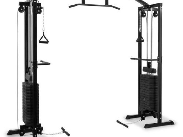 station d entra 238 nement salle de sport musculation 2x tour poids 77kg traction musculation annonce
