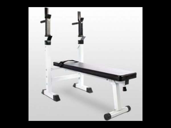 banc de musculation avec repose barre set haltre long 40 kg musculation annonce. Black Bedroom Furniture Sets. Home Design Ideas