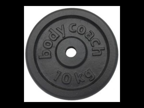 body coach disque de musculation noir 10 kg 31 x 31 x 4 cm. Black Bedroom Furniture Sets. Home Design Ideas