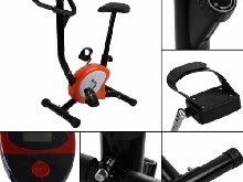 VELO D APPARTEMENT ELLIPTIQUE ERGOMETRE FITNESS CARDIO GYM AVEC ORDINATEUR LCD !