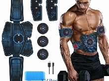 Mimiya Appareil Abdominal, Abs Trainer Ems Smart Ceinture Usb De Charger Electro