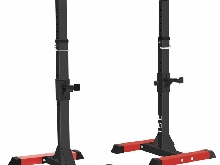 Ise Cage De Squat Supports De Squat Réglable Squat Rack Avec Barres De Support