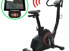vidaXL Vélo d'Appartement Programmable Masse Rotative 10 kg Exercice Maison