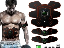 Appareil Abdominal Electrostimulateur Musculaire ABS Trainer EMS Sport Fitness