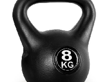POIDS KETTLE BELL 8KG HALTERE KETTLEBELL HOME TRAINING BODYBUILDING MUSCULATION