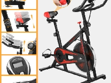 NEW Confortable VELO D'APPARTEMENT Indoor Spinning Moderne Bike Fitness Réglable