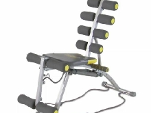 Rock Gym Banc sit-up multifonctionnel ROG001 Fitness gymnase entraînement