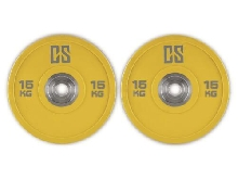 2 DISQUES POIDS 15KG CAPITAL SPORTS PERFORMAN POLYURETHANE BARRE HALTERE MUSCU