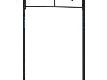 WALL MOUNT 2x BARRE PULL UP CAPITAL SPORTS Dominate W 179.150 CM STATION RACK