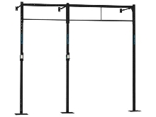 WALL MOUNT 2x BARRE PULL UP CAPITAL SPORTS Dominate W 293.110 CM STATION RACK