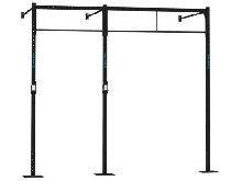 WALL MOUNT 2x BARRE PULL UP CAPITAL SPORTS Dominate W 293.170 CM STATION RACK
