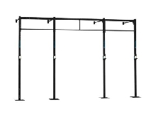 WALL MOUNT 4x BARRE PULL UP CAPITAL SPORTS Dominate W 407x110 CM STATION RACK