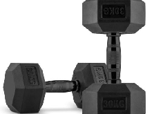 CAPITAL SPORTS Hexbell Dumbbell Paire d'haltères courts 2 x 30 kg musculation