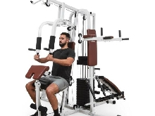 Station musculation multifonction Appareil fitness câbles traction & Pectoraux