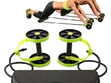 Double Ab Roller Pro Abdominale Roue Machine Minceur Bande Exercice Fitness