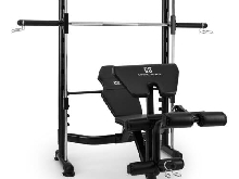 BANC HALTEROPHILIE CAPITAL SPORTS Domic SOULEVEMENT HALTERES LONGS ACIER - NOIR