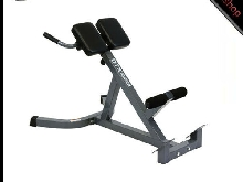 DTX Bench Banc Dos Lombaires Fitness Hyper Extension Musculation Workout Neuf