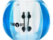 [OCCASION] Klarfit Bubble Ball Football gonflable adultes 120x150cm PVC EN71P -