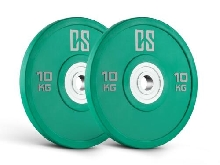 [OCCASION] 2X 10KG DISQUE POUR HALTERE CAPITAL SPORTS URETHANE MUSCU BODY BUILDI