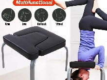 Yoga Chaise Inversé Inversion Chaise Exercice Fitness Poirier Pads PU Salle
