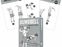 NewMe Fitness Dumbbell Exercise Cards Vol 1 (Vol 1)