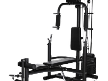 Home Gym Multifonctions Noir Gorilla Sports Pack Complet