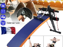 Asseyez-vous Ab Abdominal Board Bench Home Exercise Sit Up Machine Pliable