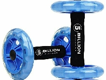 5BILLION Roue Abdominale AB Wheel Roller Roue Fitness pour Exercices (Bleu)