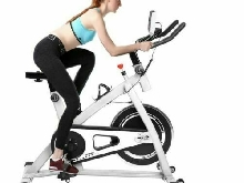 Vélo d?Appartement Piliable Cardio Spinning Appareil Fitness Sport Calories Neuf