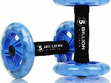 5BILLION Roue Abdominale AB Wheel Roller Roue Fitness pour Exercices Renforcer L