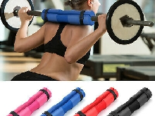 Barbell Squat Pad Neck Shoulder Protective Pad Support with Fixing Straps T6R7