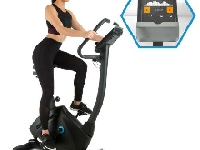 Cardio bike Vélo d'appartement Bluetooth Application Kinomap Volant inertie 15kg