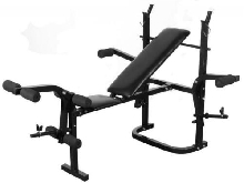 Banc de musculation multipositions complet sport fitness musculation Helloshop2