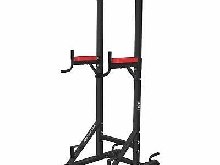 ISE 5in1 Chaise Romaine Power Tower Sport Workout Dip Station Barre de Traction