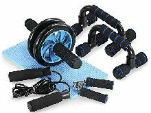Appareils Abdominale Fitness 5 en 1 Roue Kit Complet Exercices Musculation