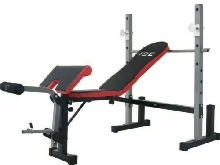 Banc De Musculation Multifonction Complet Pliable Abdominaux Fitness Sport Neuf